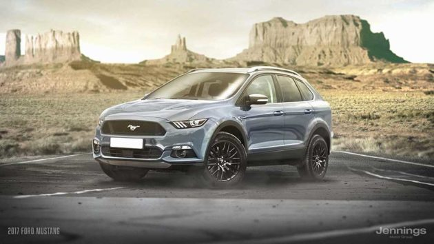 2017 Ford Mustang SUV Concept