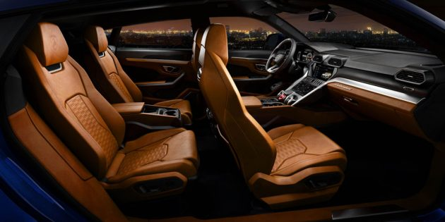 2018 Lamborghini Urus Super Sport Utility Vehicle