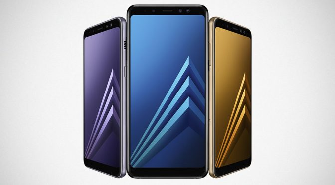 2018 Samsung Galaxy A8 and A8+ Smartphones