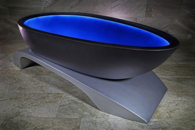 Alvarae La Baignoir Carbon Luxury Bathtub