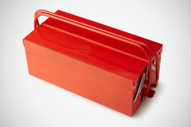 BBQ Toolbox Portable Grill from Uncommongoods