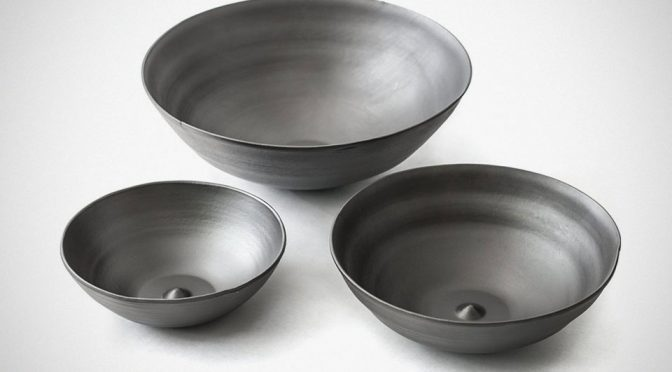 Blacksmith Bowls From Reclaimed Steel by Timothy Dyck