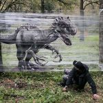Moscow Artist Ches Takes Graffiti Into The Woods With Cellograffiti