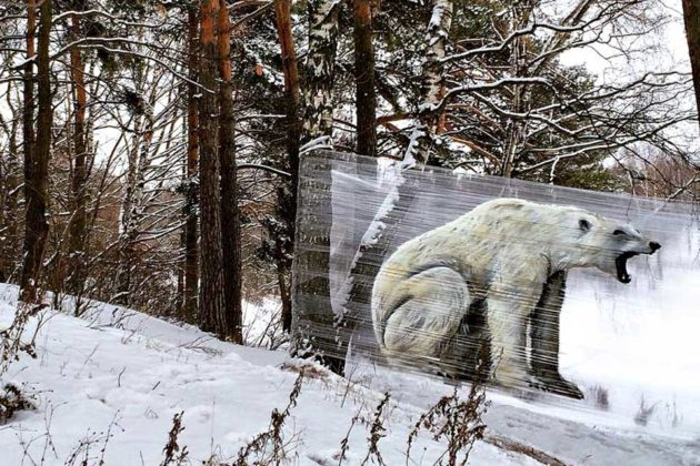 Cellograffiti: Graffiti On Cellophane by Artist Evgeny Ches