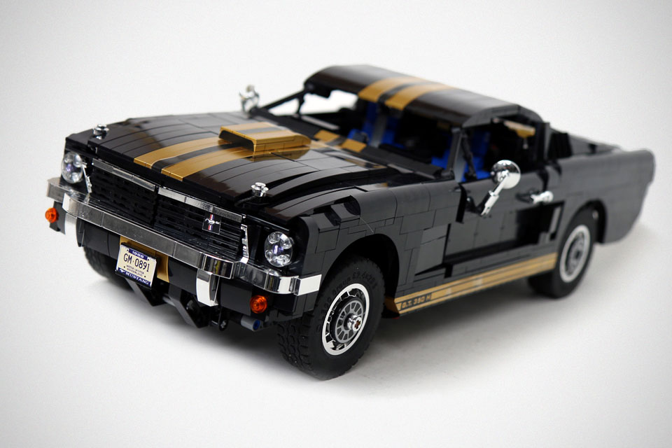 custom lego r c ford mustang gt 350 h is lego r c done. Black Bedroom Furniture Sets. Home Design Ideas