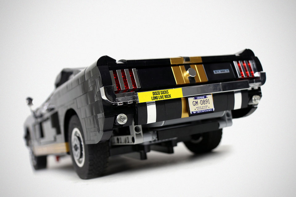 how to build a lego mustang