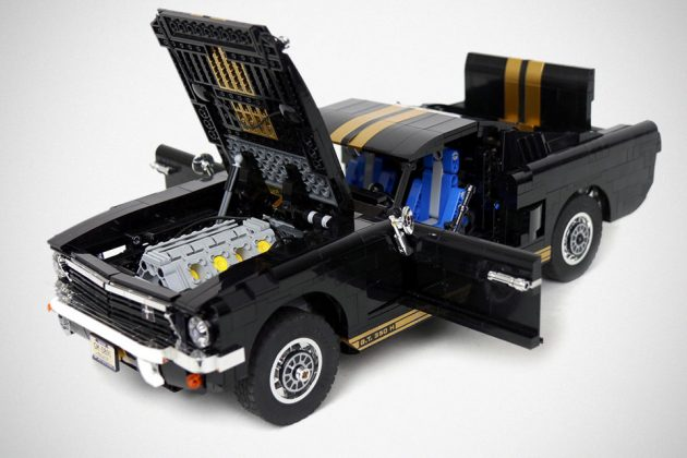 Custom LEGO R/C Ford Mustang GT 350-H by Sariel