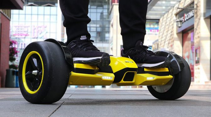 Formula 1-Inspired Hoverboard May Just Rekindle Hoverboard's Popularity