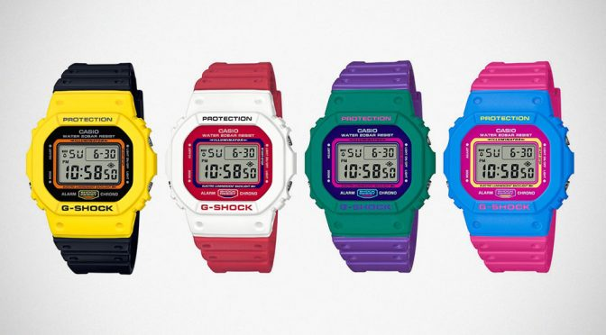 G-Shock Lends Some Bold Colors To Men's Street Style Watches