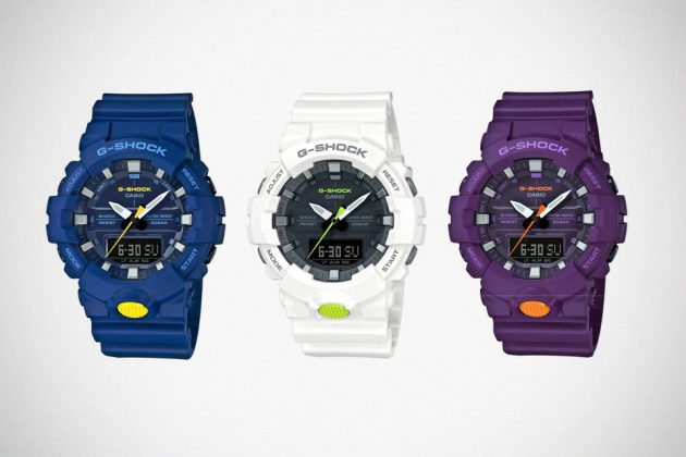 G-Shock New Colorways For Street Style Watches