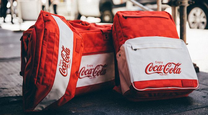 HEX Coca-Cola Laptop and Sneaker Bags