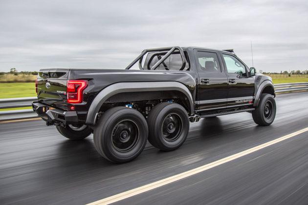 Hennessey Performance VelociRaptor 6x6 Pickup Truck