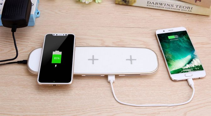 Why Wireless Charge One Device When You Can Charge 3 All At The Same Time?