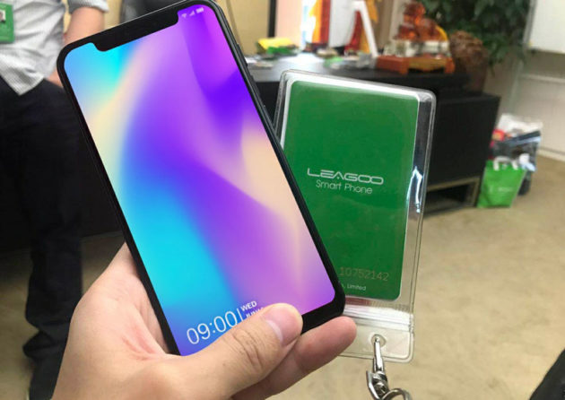 LEAGOO S9 iPhone X Knock-off Leaked