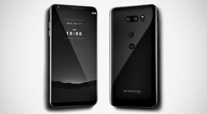 LG Turns V30 Into A $1,840 Luxury Device For Those With Money To Burn