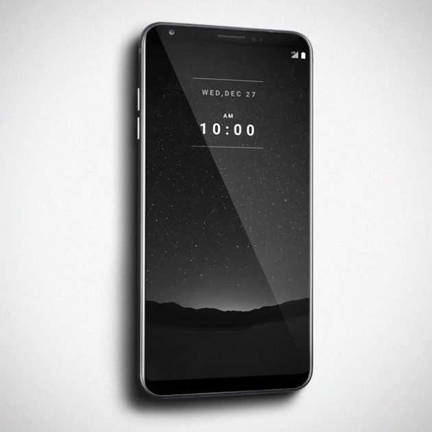LG V30 Signature Edition Android Smartphone For South Korea