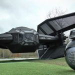 Furze & Burton Built A Full-Size Kylo TIE Fighter And A Rolling BB-9E Droid