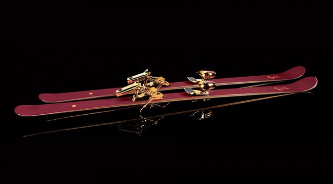 Limited Edition Jackie Chan Oro-Armaranto Skis by Foil Skis