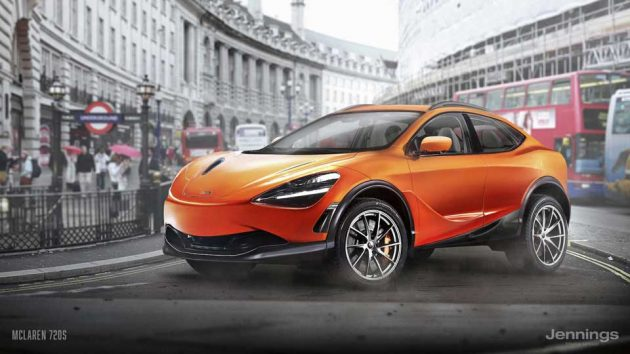 McLaren 720s SUV Concept