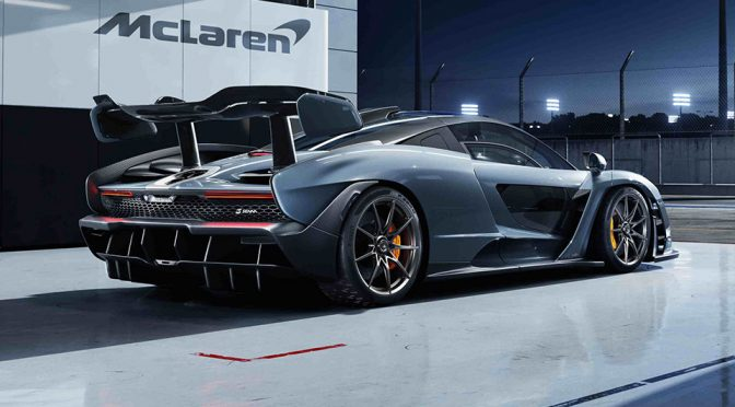 McLaren Unveils McLaren Senna, Auctioned The Last Of It For €2 Mil