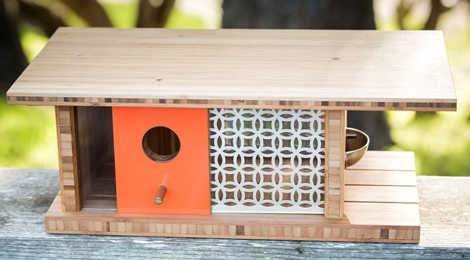 This Midcentury House Is Not An Architectural Model, It Is A Birdhouse