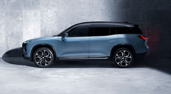 NIO ES8 Electric Sport Utility Vehicle (SUV)