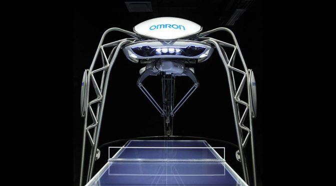 OMRON FORPHEUS Robot Table Tennis Tutor