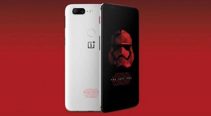 OnePlus 5T <em>Star Wars</em> Edition Is Likely Why There's Only One Color For 5T