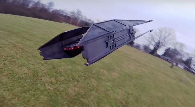 RC Star Wars Kylo Ren TIE Silencer by Peter Sripol