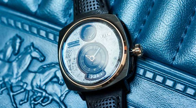 This Duo Gave Scraped Mustang A New Leash Of Life As Wrist Watches