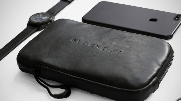 RFID Faraday Pocket by Bomber X Blackout