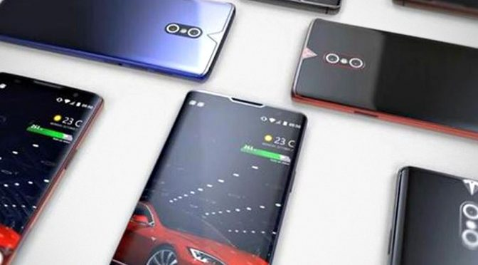Rumored Tesla Motors Smartphone Surfaced