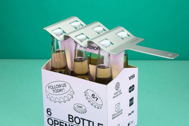 SIXOVERONE Six Pack Bottle Opener