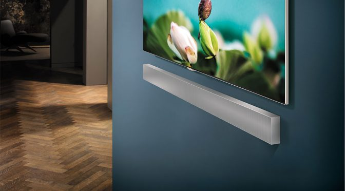 Samsung Unveiled New Wall-mountable Soundbar Ahead Of CES