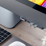 New Satechi USB Hub Puts Card Reader And Ports At The Front Of iMac Pro
