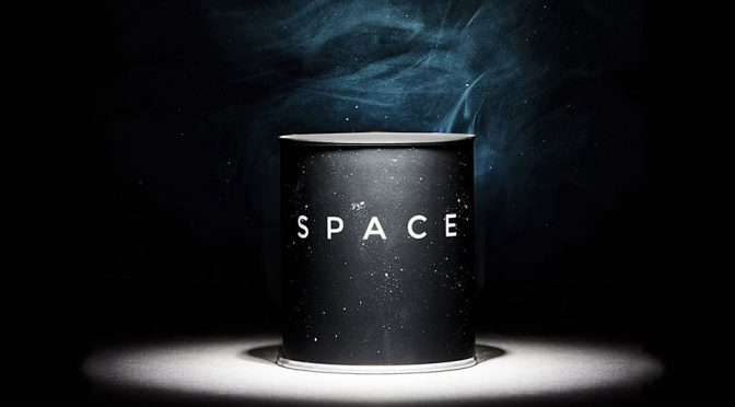 Space Candle Outer Space Scent