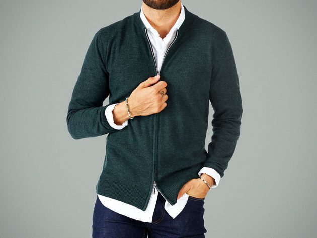The Intelligent Everyday Sweater by Grand Frank