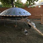 UFO Chicken Coop Puts The Question Of Chicken Or Egg To Rest Forever