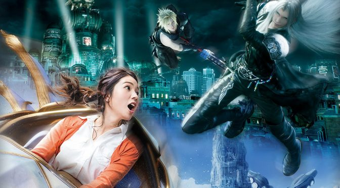 USJ's Upcoming <em>Final Fantasy</em>-themed Roller Coaster Will Be A VR Fantasy