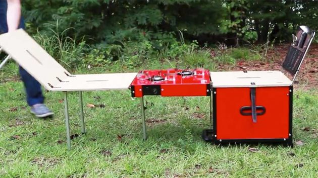 iKamper EatOut Outdoor Kitchen-in-a-Box