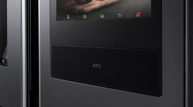 Samsung Shove An AKG Speaker Into Its 2018 Fridge Lineup Because, It Can