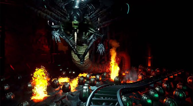 Gamer Creates A Haunting But Visually Spectacular Virtual <em>Aliens</em> Thrill Ride