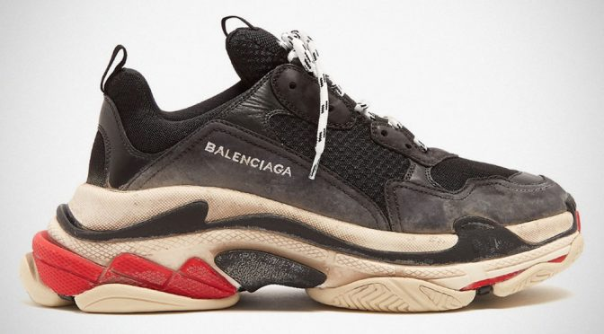 Balenciaga 'Distressed' Triple S Luxury Sneakers