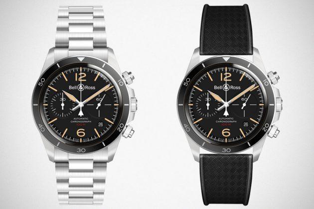 Bell & Ross Vintage BR V2-94 Steel Heritage Watch