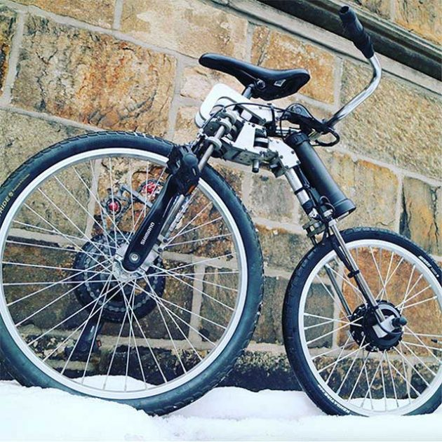 Bellcycles Front-wheel Drive Bicycle by Labs Bell