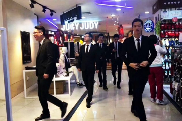 Boyfriend Sharing Service at Chinese Shopping Mall