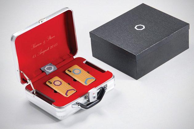Brikk Lux iPhone X Union Kit Luxury Wedding Gift Set