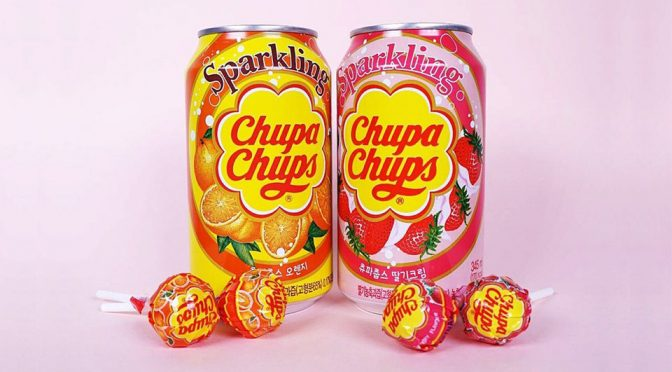 Yup. Chupa Chups Now Has Soda Of Their Famous Lollipops