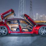 Fisker EMotion Electric Luxury Sedan Makes Global Debut At CES 2018