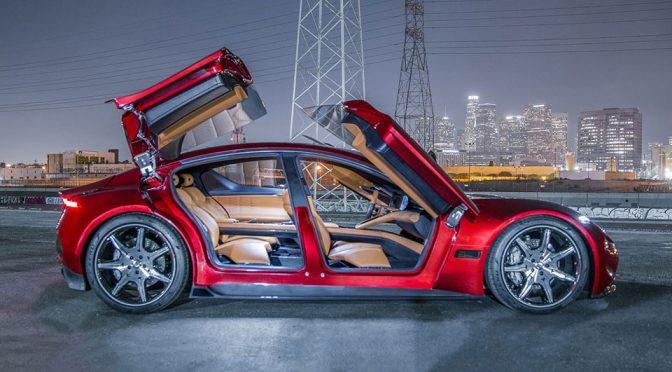 Fisker EMotion Electric Luxury Sedan Debuts at CES